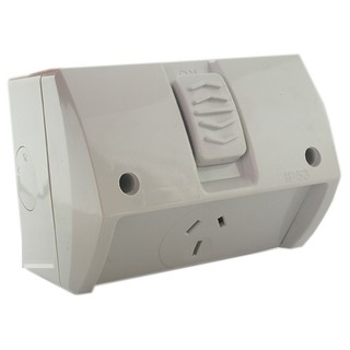 Weatherproof Single GPO 15A IP66